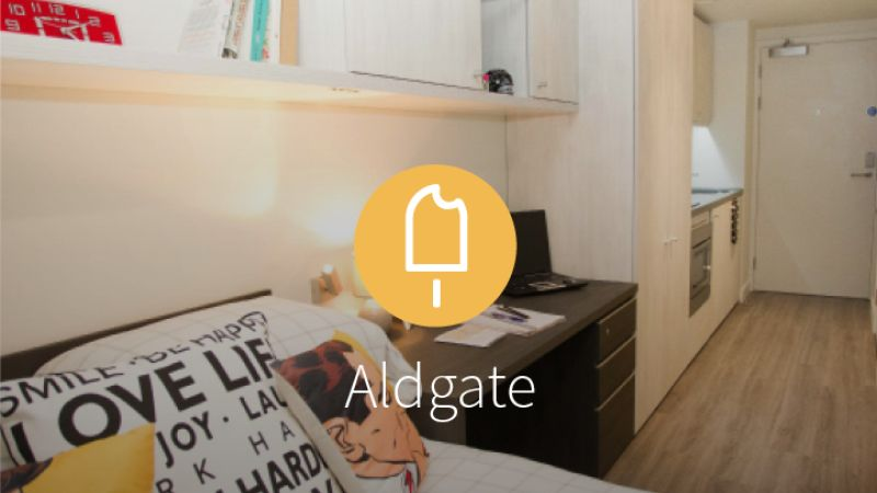 Stay with iQ Student Accommodation at Aldgate this summer