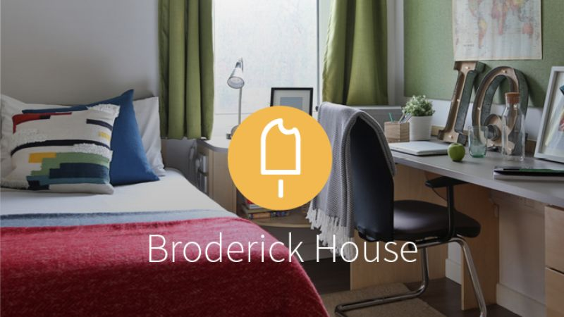 Stay with iQ Student Accommodation at Broderick House this summer