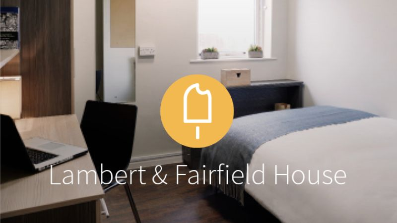Stay with iQ Student Accommodation at Lambert & Fairfield House this summer