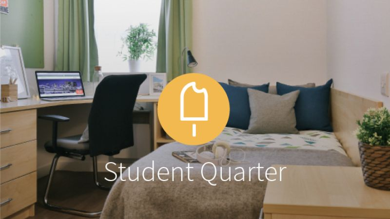 Stay with iQ Student Accommodation at Student Quarter this summer