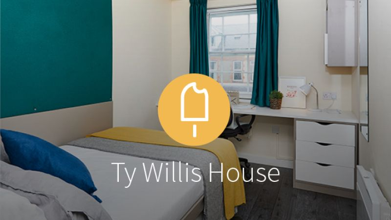 Stay with iQ Student Accommodation at Ty Willis House this summer