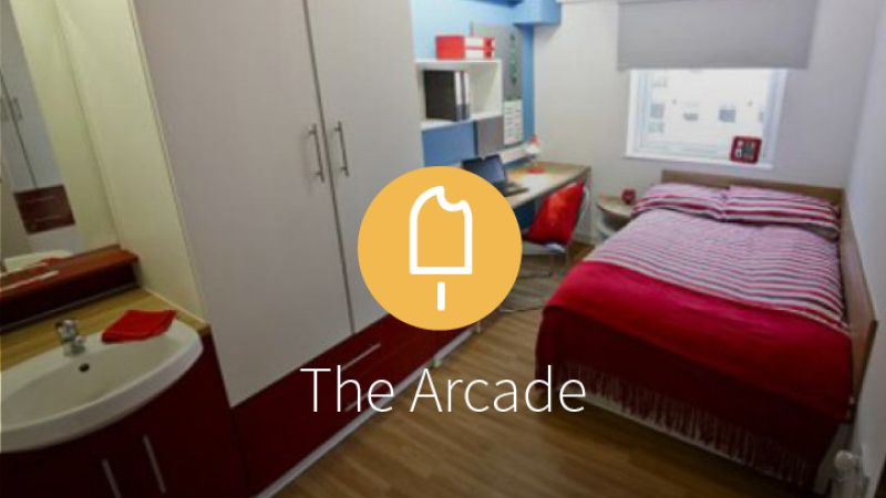 Stay with iQ Student Accommodation at The Arcade this summer