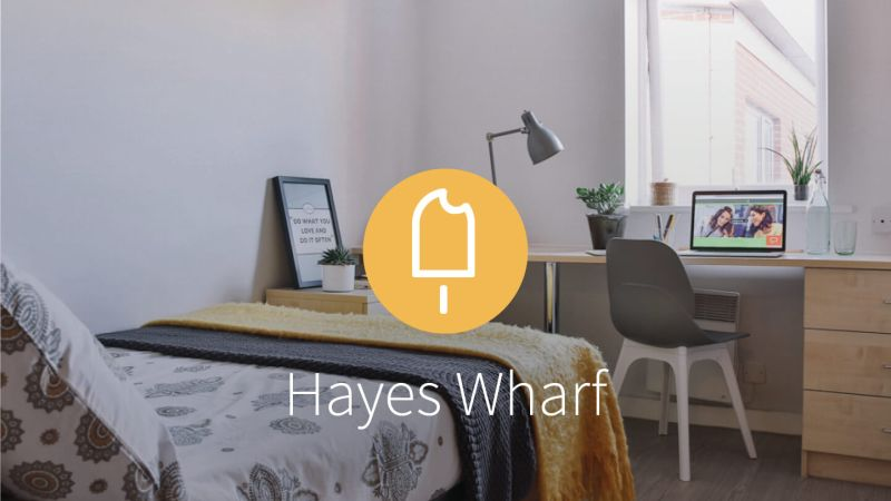 Stay with iQ Student Accommodation at Hayes Wharf this summer