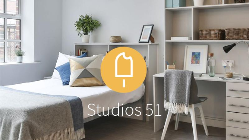 Stay with iQ Student Accommodation at Studios 51 this summer