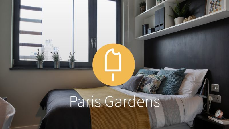 Stay with iQ Student Accommodation at Paris Gardens this summer