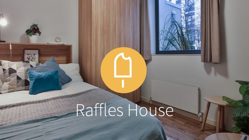 Stay with iQ Student Accommodation at Raffles House this summer