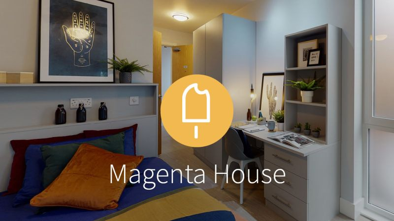 Stay with iQ Student Accommodation at Magenta House this summer