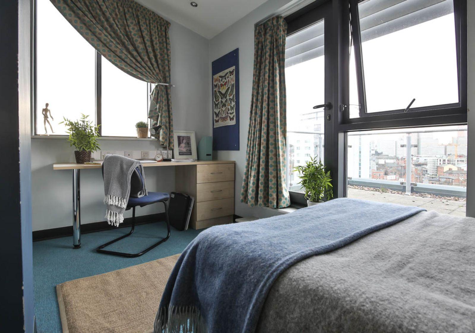 Penthouse en suite nottingham exchange iq student accommodation